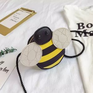 Cute Bee Coin Purse for Toddlers